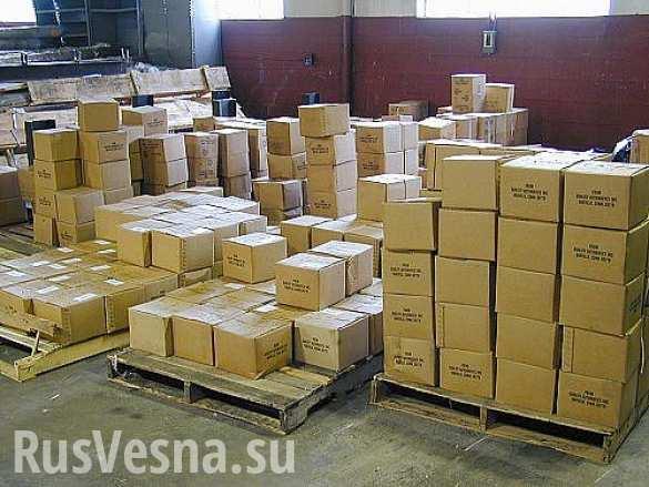 2 гумконвоя из Швейцарии прибыли в ДНР: доставлены лекарства и медицинское оборудование