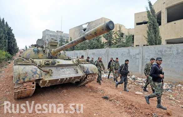 Армия Сирии освободила армянское кладбище в Дейр эз-Зоре (ФОТО)