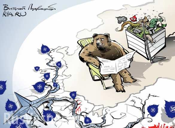 Отношения России и НАТО возвращаются ко временам холодной войны, — Песков