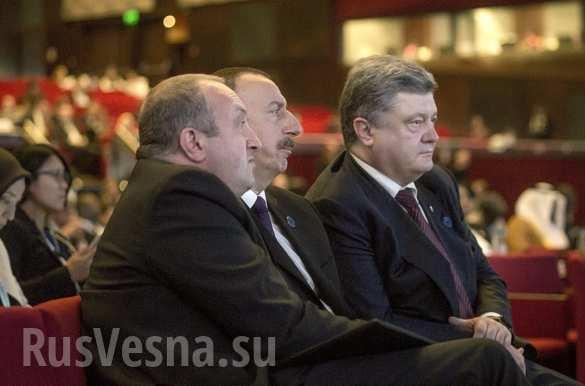 Усталый Порошенко просил в Турции денег на восстановление Донбасса (ФОТО) | Русская весна