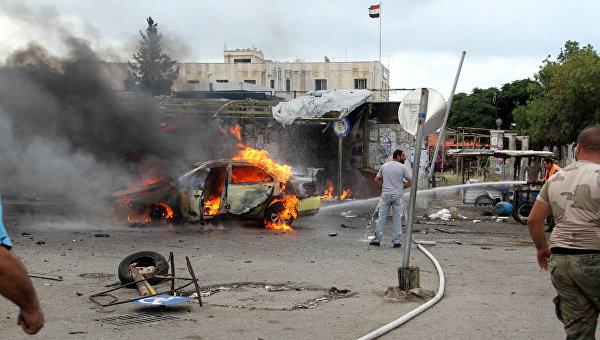 В Сирии произошла серия терактов