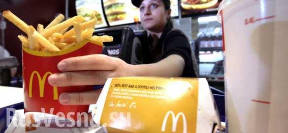 В США сотрудники «Макдоналдса» подрались из-за пирожков (ВИДЕО)