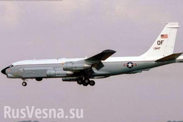 ВАЖНО: ПВО РФ обнаружила американский самолет-разведчик близ российских границ
