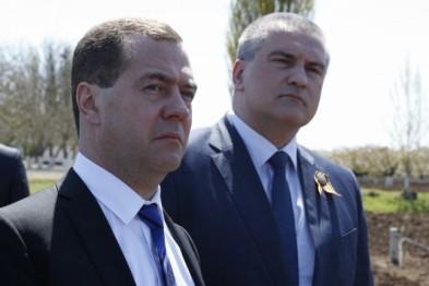 МИД Украины выразил протест в связи с визитом Дмитрия Медведева в Крым