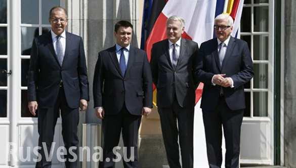 Ночной разговор: четверка обсудила Донбасс и выполнение Минских соглашений