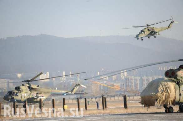 В Минобороны прокомментировали информацию об уничтожении 4-х вертолетов ВКС РФ в Сирии (ФОТО)