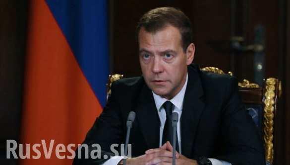 Кто-то работает, кто-то протестует, — Медведев о реакции Киева на визит в Крым