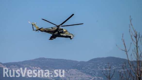 США «путаются в показаниях»: Разведка опровергает разведку про сожженные ИГИЛ российские вертолеты (ФОТО)