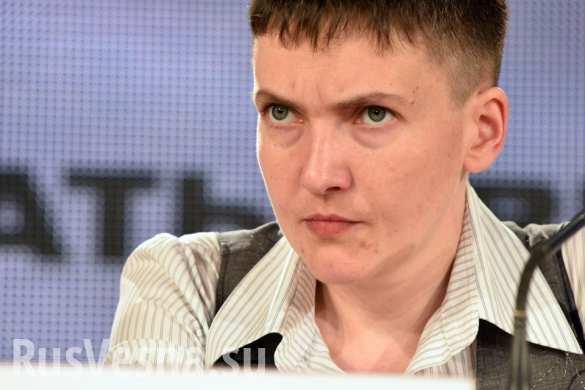 Следующую революцию возглавлю сама и на всякий случай буду носить с собой гранату, — Савченко (ВИДЕО)